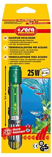 sera 8700 Regelheizer 25W (für 25 Liter) Qualitätsheizer mit schockresistentem Quarzglas, Präzisions-Sicherheitsschaltung und Sicherheits-Protector